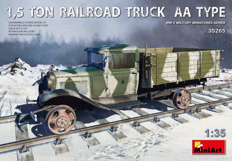 35265 1,5t Eisenbahn-Lastwagen Typ AA