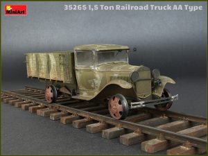 Photos 35265 1,5 TON  RAILROAD TRUCK AA TYPE