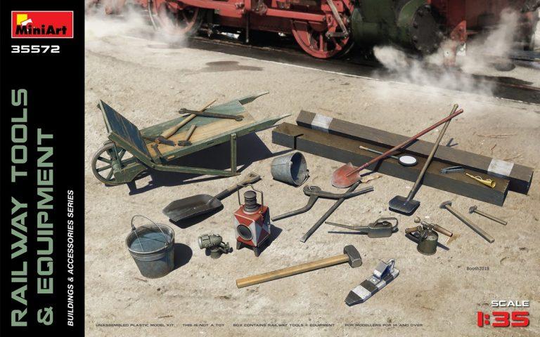 35572  铁路工具和设施