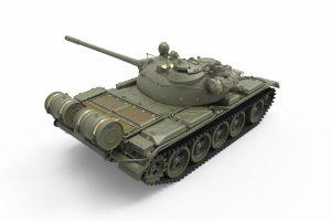 3D renders 37023 T-55 Mod. 1965 spätere Ausführung