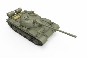 3D renders 37023 T-55A LATE MOD. 1965
