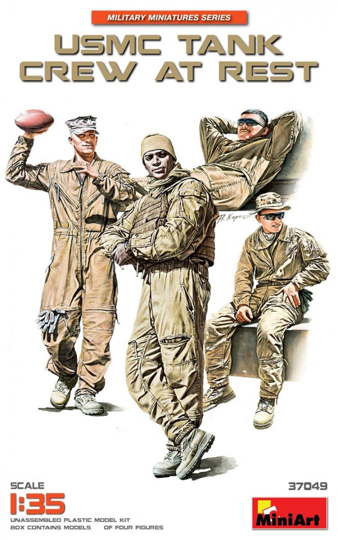 37049  美国海军陆战队坦克乘员 休息中