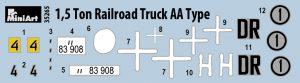Content box 35265  1.5トンレールロードトラックAAタイプ