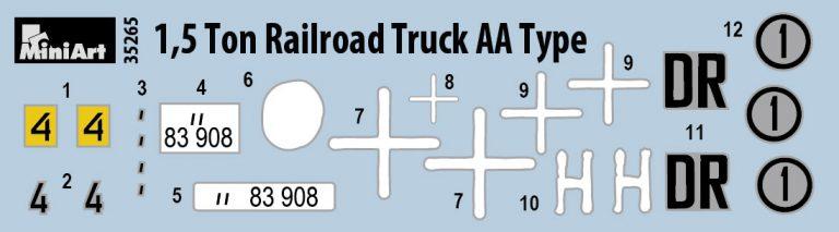 35265  1.5トンレールロードトラックAAタイプ