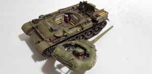 37003 T-54-1 SOVIET MEDIUM TANK. INTERIOR KIT + 35088 SOVIET 100-mm SHELLS w/AMMO BOXES + Sergey Drozdov