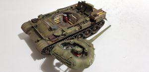 37003 T-54-1 SOVIET MEDIUM TANK. INTERIOR KIT + 35088 SOVIET 100-mm SHELLS w/AMMO BOXES + Sergey Drozdov