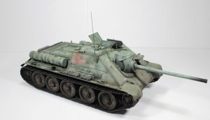 35187 SU-85 SOVIET SELF-PROPELLED GUN. INTERIOR KIT + Herman S