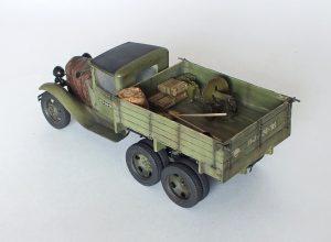 35127 GAZ-AAA CARGO TRUCK + Zaxar 157