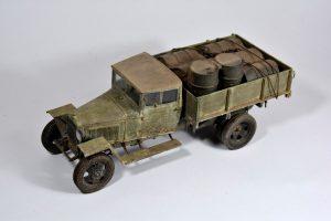 35134 GAZ-MM Mod.1943 CARGO TRUCK + Miroslav Belovič