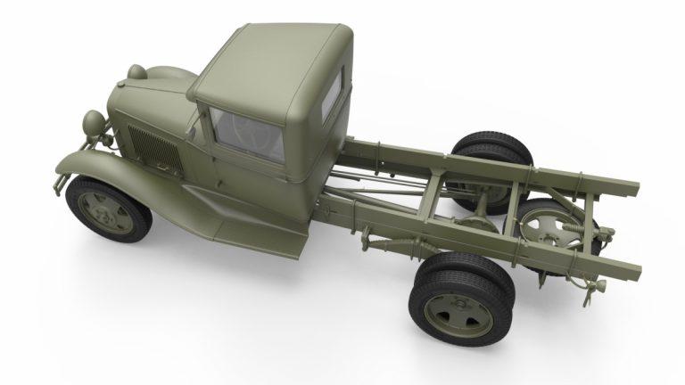 35186 SOVIET 1,5 t. TRUCK w/ M-4 Maxim AA Machine Gun