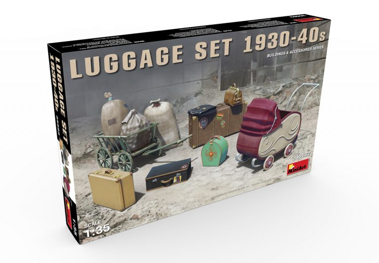 35582 LUGGAGE SET 1930-40s