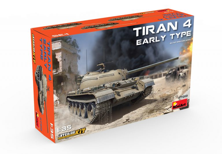 37010 Tiran 4 frühe Ausführung mit Inneneinrichtung