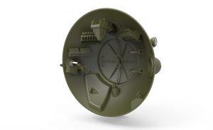 3D renders 40001 Советский «Шаротанк»