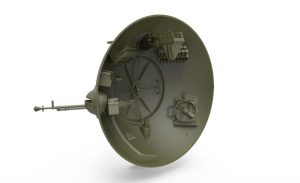 """3D renders 40001 Sowjetischer Kugelpanzer """"Scharotank"""""""