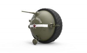 "3D renders 40001 苏联球型坦克""沙罗坦克"""