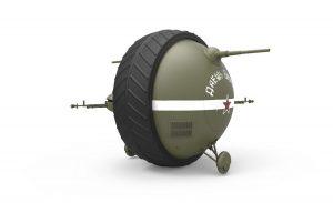 """3D renders 40001 SOVIET BALL TANK """"Sharotank"""" INTERIOR KIT"""