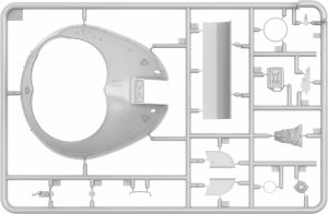 Content box 37010 Tiran 4 frühe Ausführung mit Inneneinrichtung