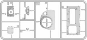 Content box 37010 ティラン4初期型(内部再現)インテリアキット