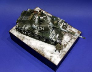 37012 T-54-2 SOVIET MEDIUM TANK. Mod. 1949 + David Coyne