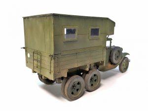 35136 GAZ-AAA Mod. 1940. CARGO TRUCK + Andrey Zemlyanichkin