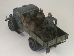 38014 GERMAN CARGO TRUCK L1500S + Lothar Limprecht