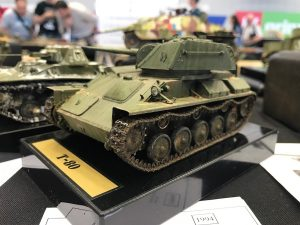 35117 SOVIET LIGHT TANK T-80. SPECIAL EDITION
