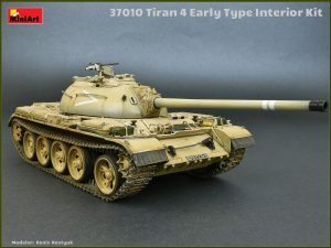 37010 TIRAN 4 EARLY TYPE. INTERIOR KIT +  Denis Kostyuk