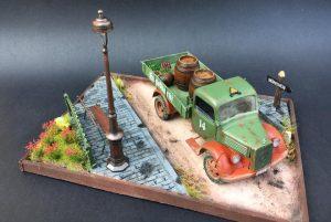 38014 GERMAN CARGO TRUCK L1500S + Shahram Rafezi