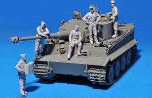 Photos 35275 GERMAN TANK CREW (Normandy 1944) SPECIAL EDITION