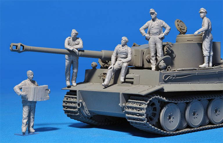 35275 GERMAN TANK CREW (Normandy 1944) SPECIAL EDITION