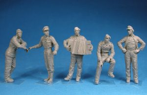 Photos 35275 GERMAN TANK CREW (Normandy 1944) SPECIAL EDITION