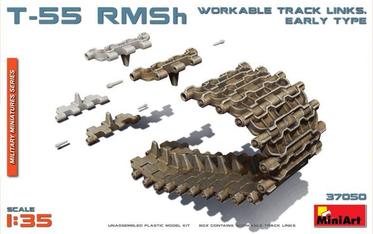 37050 T-55 RMSh 可动履带, 早期型