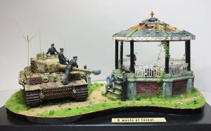 35132 GERMAN TANK CREW (Normandy 1944) + Jan Vereerstraeten