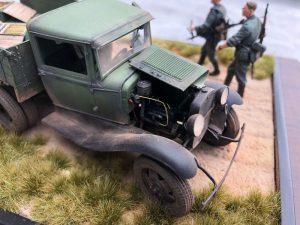 35127 GAZ-AAA CARGO TRUCK + 35073 SOVIET 45-mm SHELLS w/AMMO BOXES + Francis Matthews