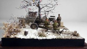 35129 USV-BR 76-mm GUN Mod.1941 w/ LIMBER AND CREW + 35109 SOVIET SOLDIERS AT REST. SPECIAL EDITION