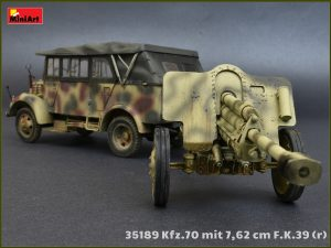 Photos 35189 Армейский Автомобиль Kfz.70 с Пушкой 7,62 cm F.K. 39 ( r )