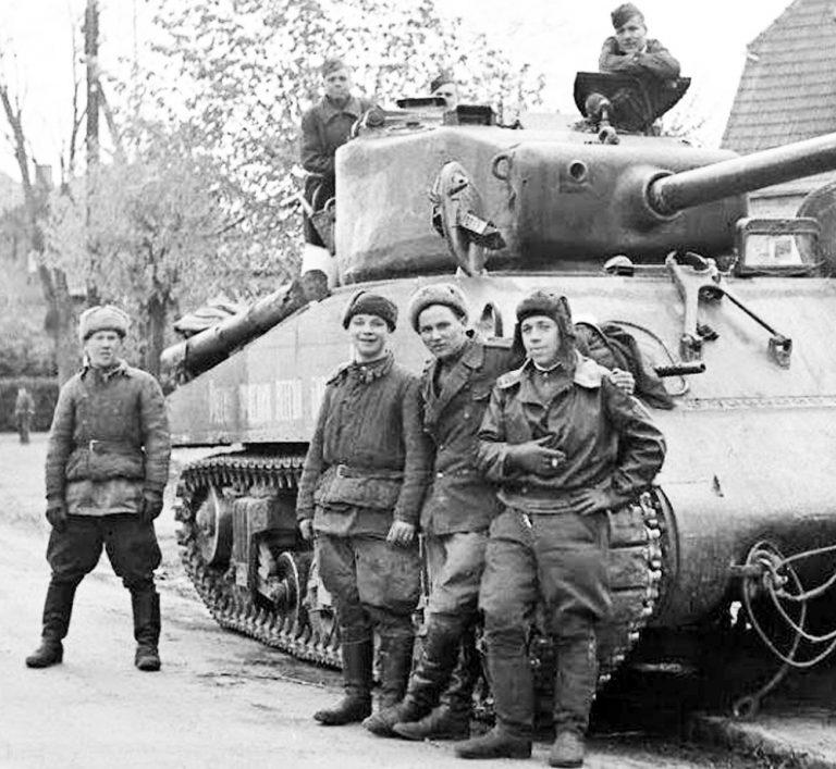 35254 Sowjetische Panzer Crew (für Flammenwerfer Panzer & schwere Panzer)