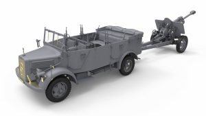 3D renders 35189 Kfz.70 & 7,62 cm F.K. 39 ( r )