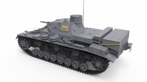 3D renders 35213 Ⅲ号戦車D/B型