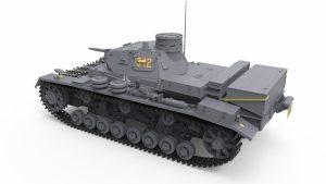 3D renders 35213 Pz.Kpfw.III Ausf. D/B