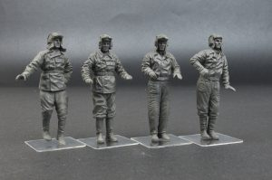 Photos 35254 SOVIET TANK CREW (for Flame Tanks & Heavy Tanks of Breakthrough)