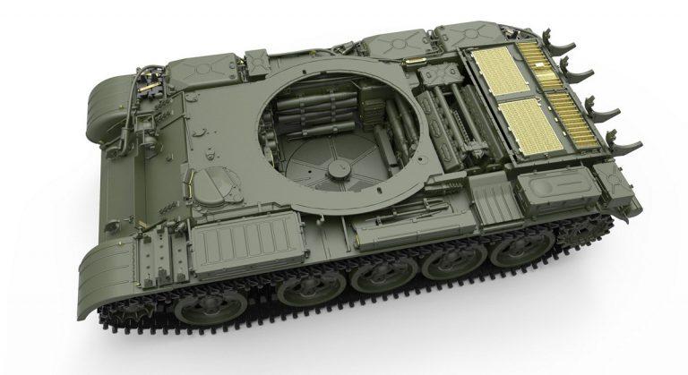 37020 T-55A Mod.1981フルインテリア(内部再現)