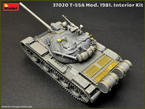 Build up 37020 T-55A Mod.1981 Innenraum Kit