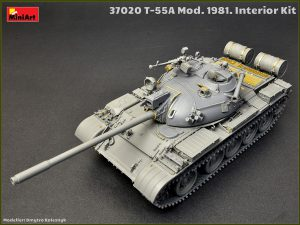 Build up 37020 T-55A MOD.1981 INTERIOR KIT