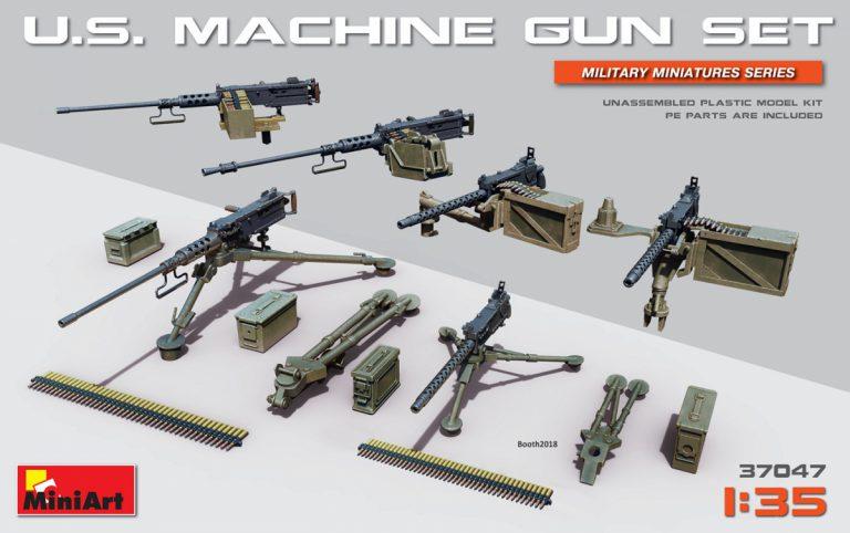 37047 U.S. Maschinengewehr Set