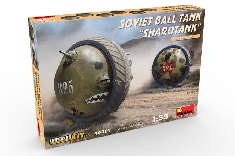 """40001 SOVIET BALL TANK """"Sharotank"""" INTERIOR KIT"""