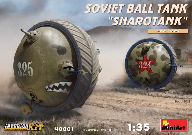 40001 Советский «Шаротанк»