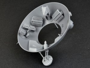 "Build up 40001 SOVIET BALL TANK ""Sharotank"" INTERIOR KIT"