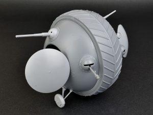 """Build up 40001 SOVIET BALL TANK """"Sharotank"""" INTERIOR KIT"""