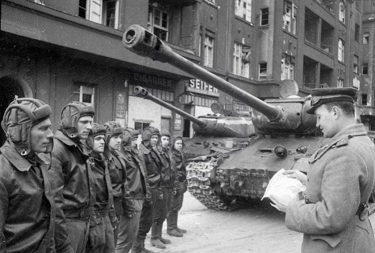 35254 苏联坦克乘员(for 突破战的火焰坦克&重型坦克)